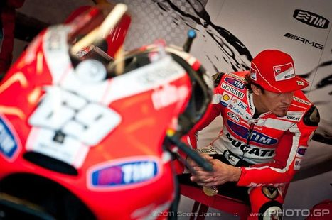 AsphaltandRubber.com | Photo of the Week: Keep Your Chin Up Nicky | Ductalk Ducati News | Scoop.it