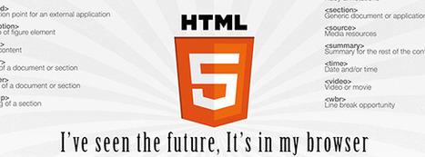 HTML5 Cheat Sheet Desktop Wallpaper | QuicklyCode | onDev | Scoop.it