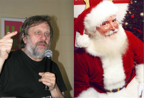"Slavoj Žižek Answers the Question ""Should We Teach Children to Believe in Santa Claus?"" 