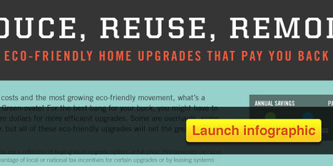 Home Improvements that Pay You Back | green infographics | Scoop.it