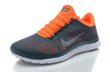 ed342051fa3b1d Men Nike Free 3.0 V5 Gray Green Running Shoes