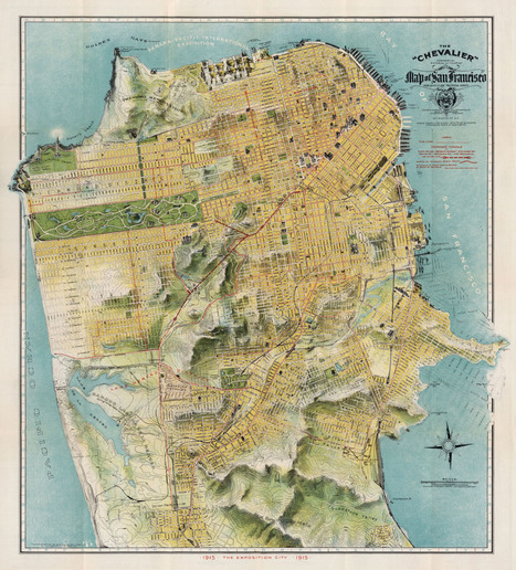Mapping The San Francisco of Yesteryear | visual data | Scoop.it
