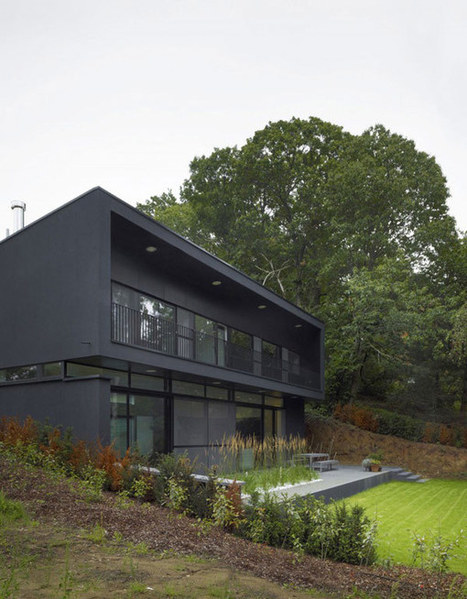 Strong Modern Vibes Displayed by The Hard Werken Residence in Belgium | Design | News, E-learning, Architecture of the future at news.arcilook.com | Architecture news | Scoop.it