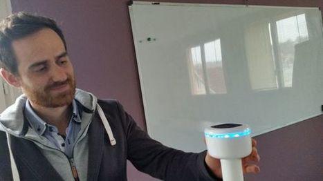 Un objet pour réduire le bruit dans les bureaux : une entreprise briviste présente son innovation à Las Vegas | Aménagement des espaces de vie | Scoop.it