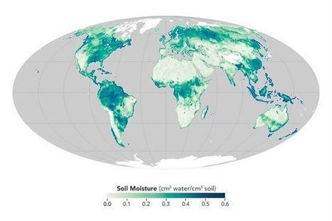 Un Mapa Mundi De La Humedad En El Suelo Cienc