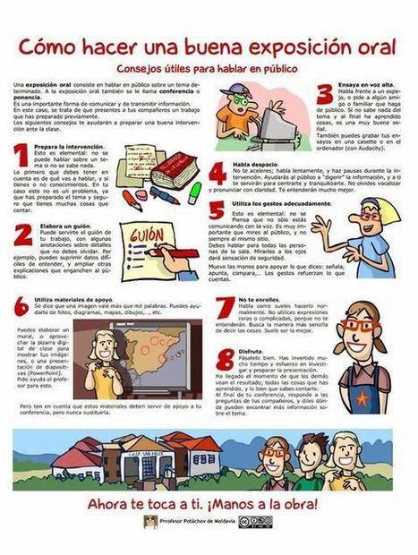8 Útiles Consejos para Lograr una Buena Exposición Oral | Bibliotequesescolars | Scoop.it