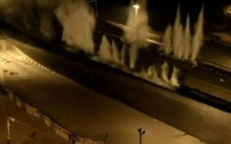 Giant demolition job as two mile viaduct in China is blown up   Strange days indeed...   Scoop.it