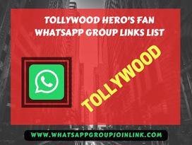 Join Tollywood Celebrity Fan WhatsApp Group lin