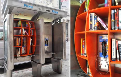Cabina de Libros - NYC | educARTE | Scoop.it