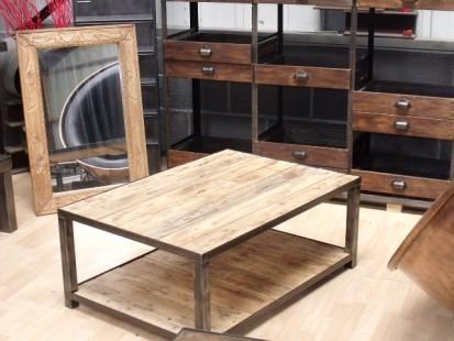 table basse bois palette r cup 39 m. Black Bedroom Furniture Sets. Home Design Ideas