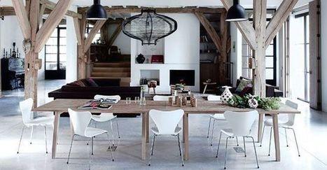 Rénovation vieille maison : 15 photos de séjours rénovés avec goût | Ma maison au quotidien | Scoop.it