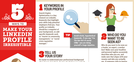 Social@Ogilvy: 5 Ways to Make Your LinkedIn Profile Irresistible | Making Linked in work for YOU | Scoop.it