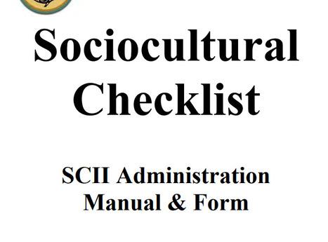 sociocultural assessment
