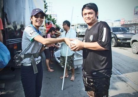 เวสป้าปันน้ำใจให้ผู้ประสบภัยน้ำท่วม | FMSCT-Live.com | Scoop.it