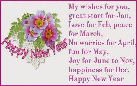 happy new year 2016 messages in english