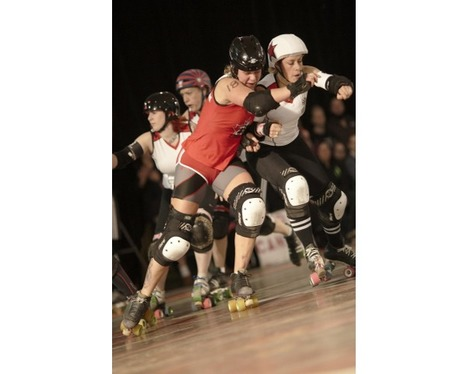 This is Roller Derby photography exhibition - Sheffield | Photo Magazine | Scoop.it