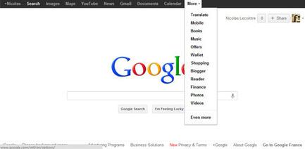 La barre noire de Google n'a pas dit son dernier mot...   SocialWebBusiness   Scoop.it