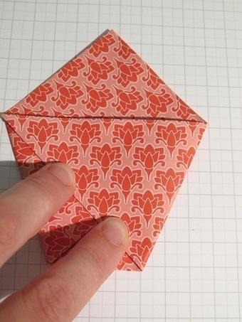 Pochette cadeau en origami bricolage avec du p - Bricolage avec du papier ...