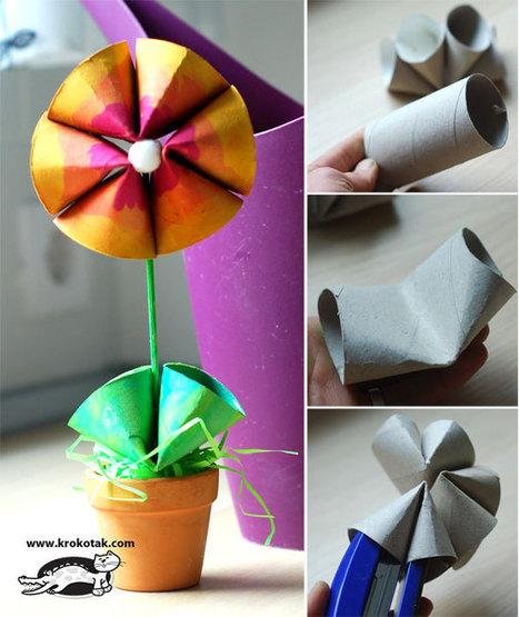 Toilet Roll SPRING FLOWER | Baúl de una MaMaestra | Scoop.it