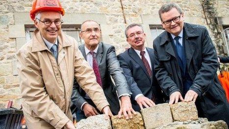 La première pierre de la manufacture Hermès de Saint-Junien tout juste posée   Métiers, emplois et formations dans la filière cuir   Scoop.it