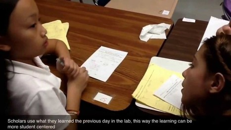 Blended Learning in action in 6th grade math @ ... | Technology in Education today | Scoop.it
