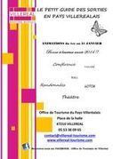 Programme Janvier 2014 - Pays Villeréalais | Réseau Professionnel Tourisme - Office de tourisme Coeur de Bastides | Scoop.it