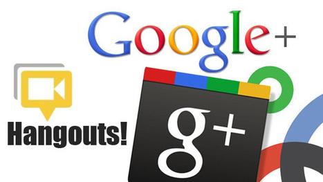 Aprende cómo aprovechar los hangouts de Google + | MEDIA´TICS | Scoop.it