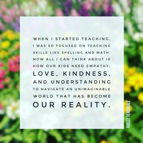 When I started teaching .... @KrissyVenosdale via Instagram | Educated | Scoop.it