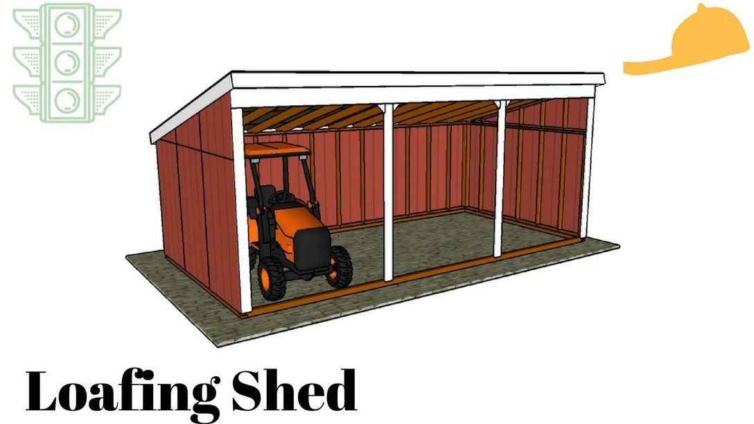 Free Loafing Shed Plans | Garden Plans | Scoop...