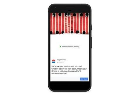 Facebook introduit les live audio - Socialshaker | SoShake | Scoop.it