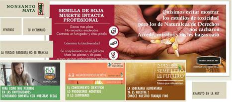 Mira cómo intervinieron el sitio web de Monsanto - Ecoportal.net | Agroindustria Sostenible | Scoop.it
