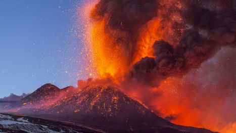 Smudged volcanic crystals offer clues to past eruptions | Mineralogy, Geochemistry, Mineral Surfaces & Nanogeoscience | Scoop.it