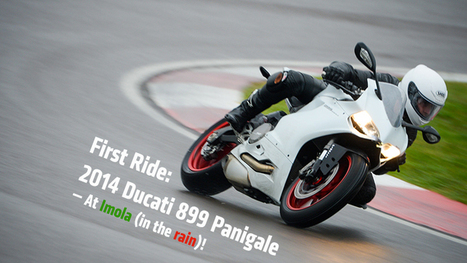 Worlds First Ride: 2014 Ducati 899 Panigale Review | Ducati | Scoop.it