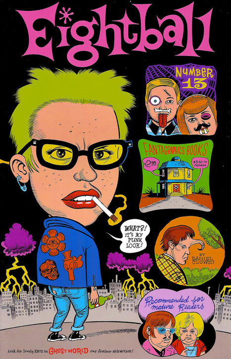 Watch: Mark interviews Ghost World cartoonist Daniel Clowes   Studio Art and Art History   Scoop.it