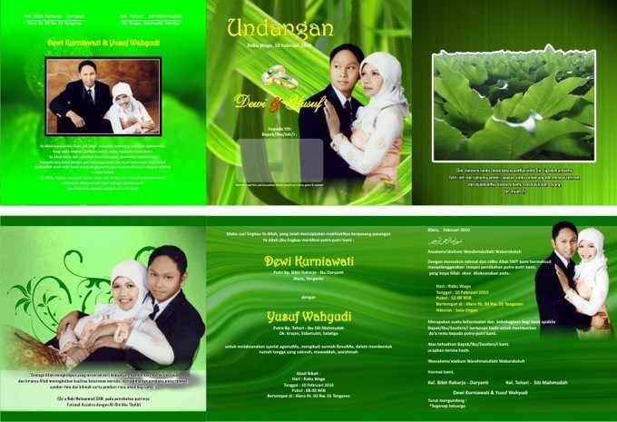 Download Desain Undangan Pernikahan 001 Corel D...