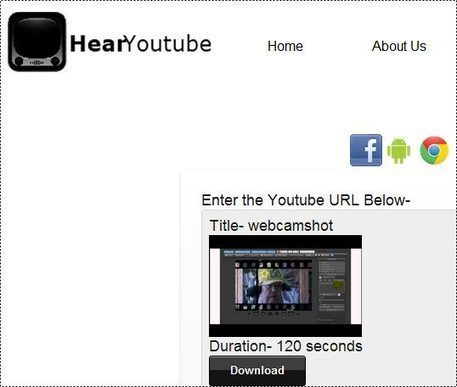 Hearyoutube : Youtube vers mp3   Time to Learn   Scoop.it