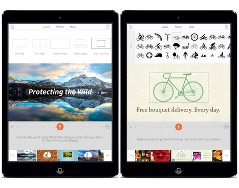 Adobe Launches Standalone Storytelling App for iPad: Adobe Voice | Social Media Content Curation | Scoop.it