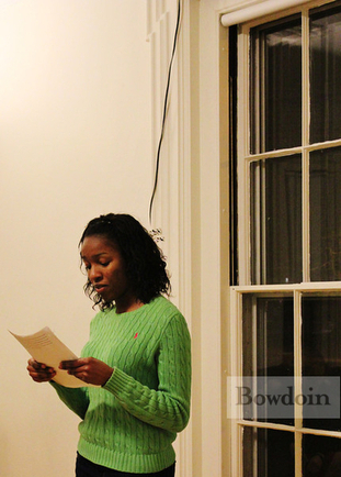 Slideshow: Bowdoin Celebrates Black History Month with Poetry, Food, Music « Bowdoin Daily Sun | Poetry resources | Scoop.it