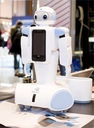 Programmable robots coming to Korean stores, will assimilate your Android phone - Engadget | Heron | Scoop.it