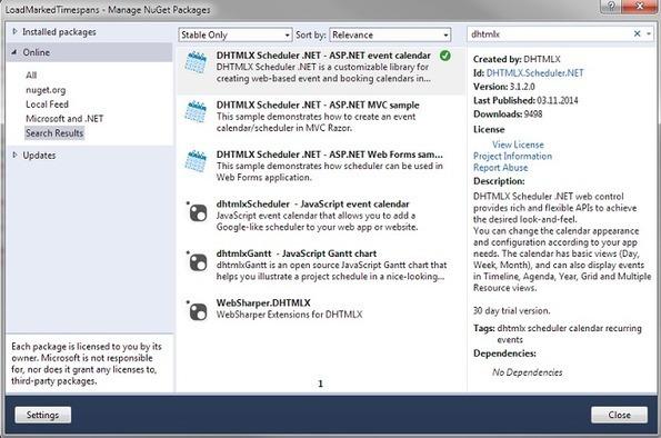 Asp Net Calendar Control Example Vb