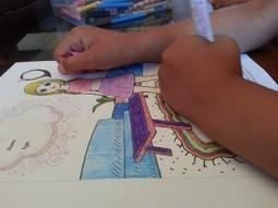ColAR, láminas de colorear que cobran vida con Realidad Aumentada | Curso #ccfuned: Realidad aumentada aplicada a la educación. | Scoop.it