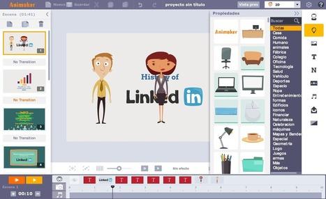Doce herramientas y servicios online para crear animaciones sin conocimientos avanzados | paprofes | Scoop.it