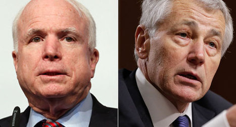 Why McCain turned on his old friend Hagel | AUSTERITY & OPPRESSION SUPPORTERS  VS THE PROGRESSION Of The REST OF US | Scoop.it