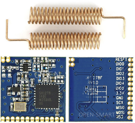 433/868/915 MHz LoRa Modules Are Now Selling for $6 and Up | Embedded Systems News | Scoop.it