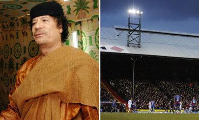 Did Colonel Gaddafi almost buy Crystal Palace? #Gaddafi   torture en Libye sous le règne des révolutionnaires   Scoop.it