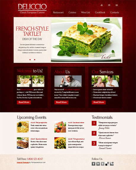 50 Beautiful Yet Free HTML5 And CSS3 Templates | Free and Useful Online Resources for Designers and Developers | semanticweb30andcurationedtoolswith@web20education | Scoop.it
