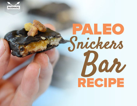 Paleo Snickers Bars | Nutrition & Recipes | Scoop.it