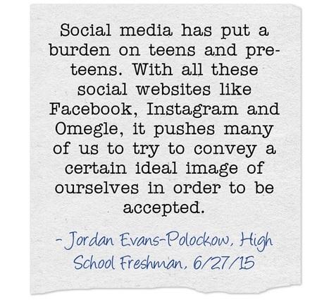 Teens, peer pressure and social media | Responsible Digital Citizenship | Scoop.it