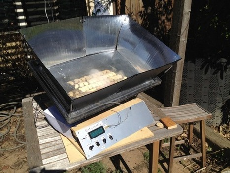 Cooking with Raspberry Pi: Solrmatic Programmable Solar Cooker | News in education study | Scoop.it