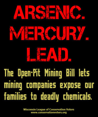 ACT NOW: Tell Legislators to Vote NO on the Open-Pit Mining Bill - #nomine #IdleNoMore #BadRiver #wimines | IDLE NO MORE WISCONSIN | Scoop.it